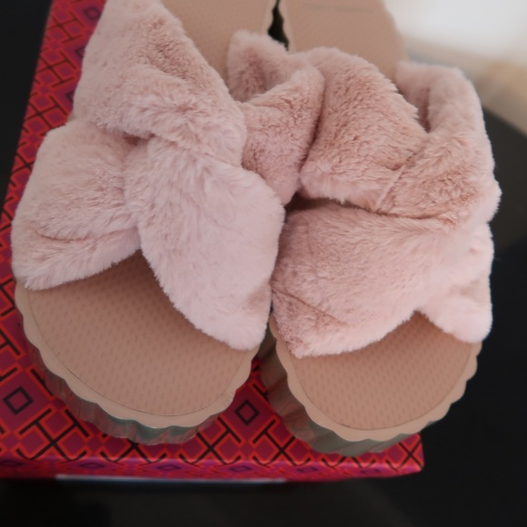 Used Tory Burch shell shoes